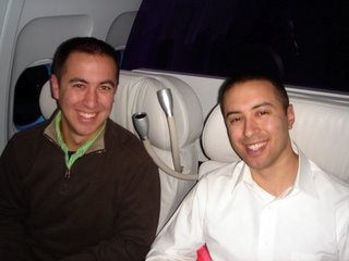Swartz Brothers in First Class